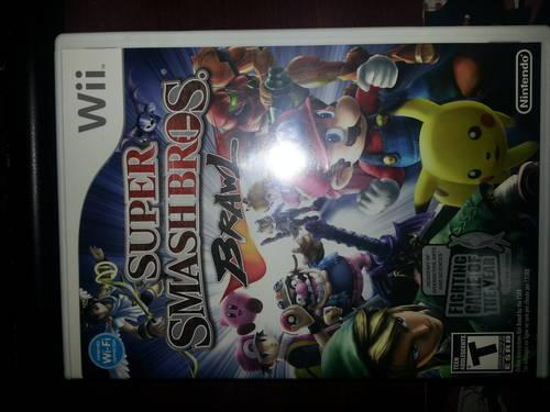 Super SmashBros Brawl Wii