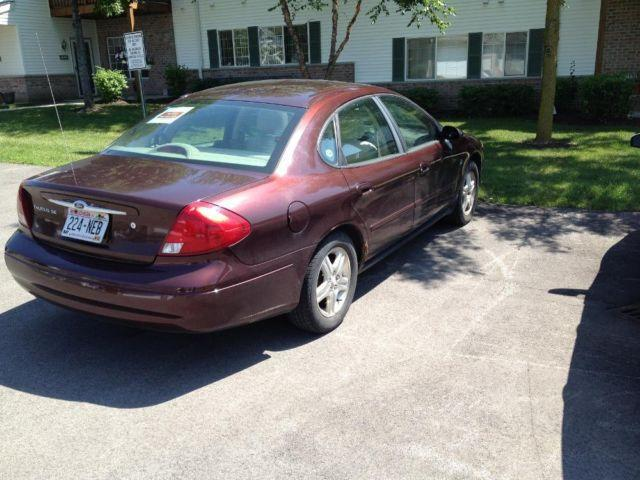 2000 Ford Taurus SES top end Chestnut brown with Leather seats 105K mi