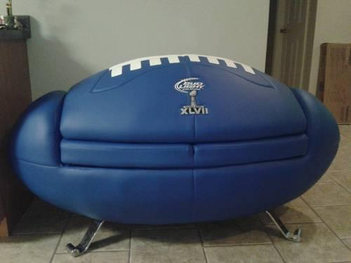 SuperBowl 47 Budlight couch!! for Sale in West Point, Georgia