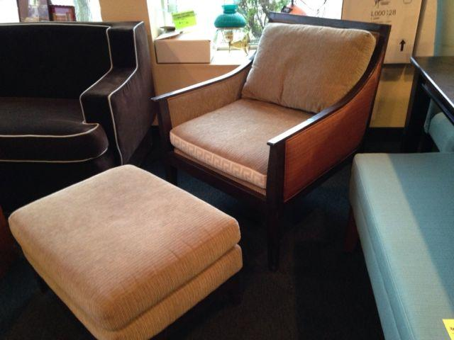 Chair & Ottoman by Charter