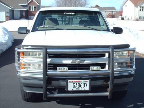 1998 CHEVY SILVERADO EXTENDED CAB 4X4 Z71