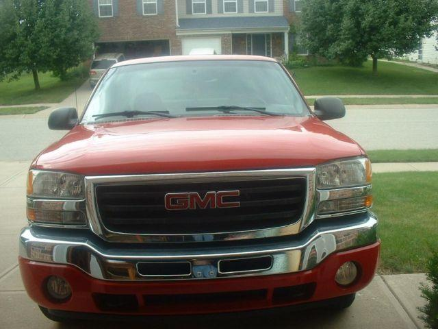 2005 GMC SIERRA 1500 EXT CAB 87000 MILES REBUILT TITLE