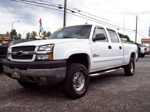 2004 chevy 2500hd crew cab lt 4x4 duramax for sale in lake view alabama classified. Black Bedroom Furniture Sets. Home Design Ideas