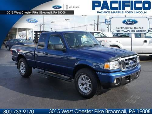 2010 ford ranger super cab pickup 4x4 xlt for sale in broomall pennsylvania classified. Black Bedroom Furniture Sets. Home Design Ideas
