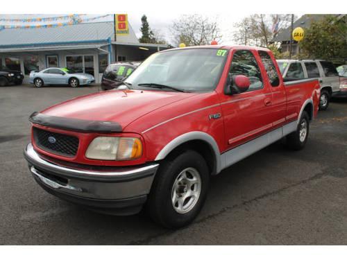 1997 ford f 150 super cab pickup lariat 4x4 for sale in hillsboro oregon classified. Black Bedroom Furniture Sets. Home Design Ideas