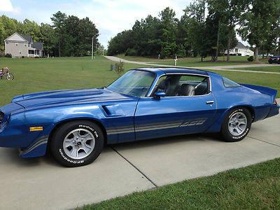 1981 chevrolet camaro z28 for sale in sims north carolina classified. Black Bedroom Furniture Sets. Home Design Ideas