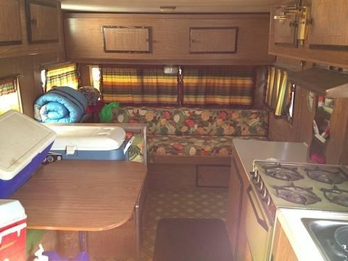 1970's Self Contained Camp Trailer