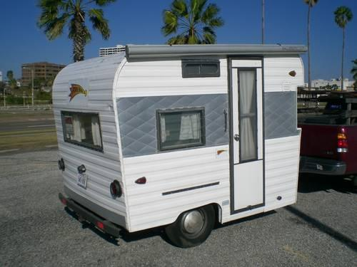 Vintage Travel Trailer 1964 Fireball Camper Nice Condition