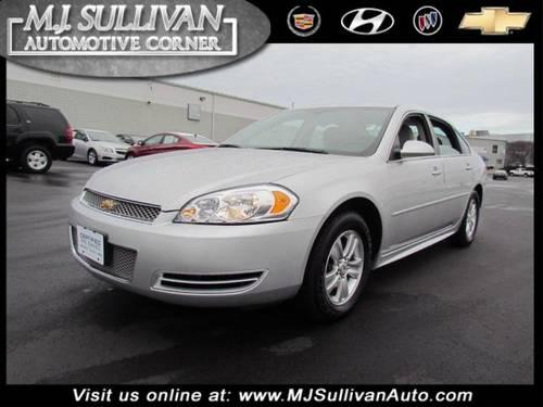 2012 Chevrolet Impala 4dr Car LS Fleet