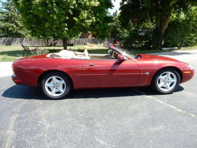 1999 Jaguar XK8 Convertible - Cardinal Red Mica - V6