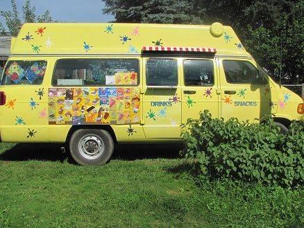 Amazing Ice Cream Truck! Eye Catcher! 2003 Dodge Ram Van
