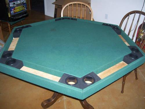 Poker Table and 4 chairs for Man Cave