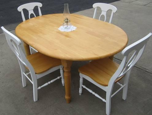 dining table butcher block dining table chairs. Black Bedroom Furniture Sets. Home Design Ideas