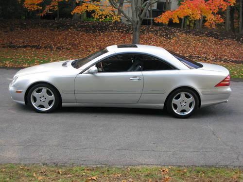 2000 Mercedes Benz CL 500 Coupe...EXCELLENT!