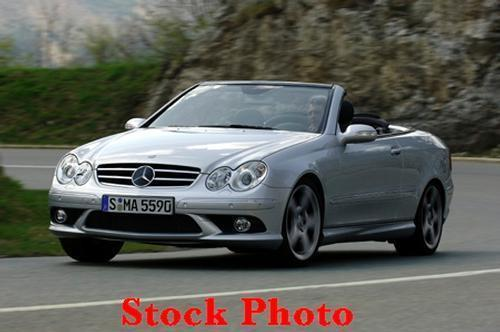 2007 Mercedes CLK550 Convertible