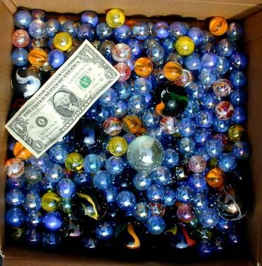 MARBLES 3000 PER BOX LOTS OF COLORS ... ALL MUST GO!!!