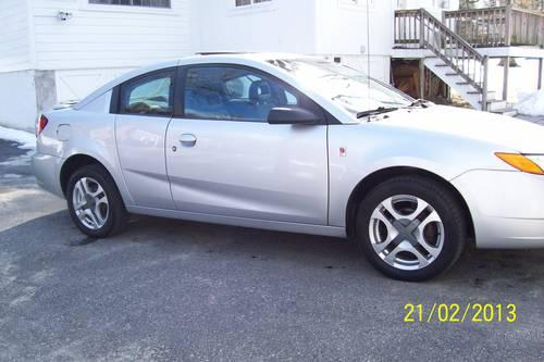 2003 Saturn Ion Quad Coupe - Nice Cond! 5 Speed 4 Cyl !