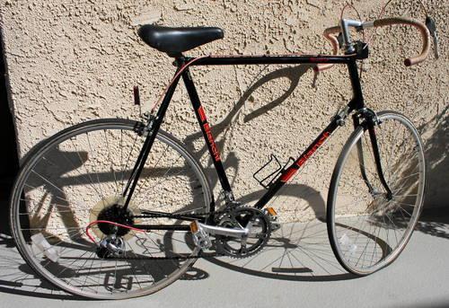 Bianchi Black Road Bicycle Excellent Cond Strada Campione