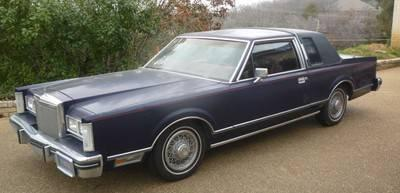 1980 lincoln town coupe continental rare car for sale in arlington texas classified. Black Bedroom Furniture Sets. Home Design Ideas