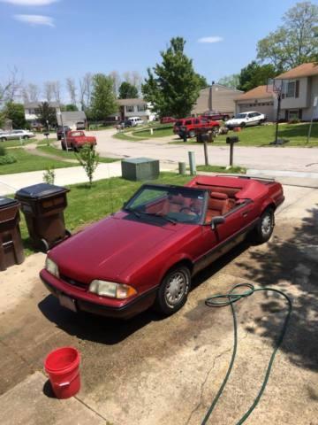 1989 Mustang Convertable