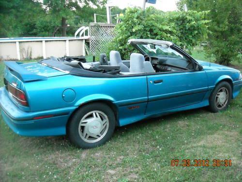 1992 Z24 Chevy Cavalier Convertible 3.1 liter engine