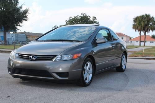 2007 honda civic ex coupe 98k manual for sale in viera florida classified. Black Bedroom Furniture Sets. Home Design Ideas