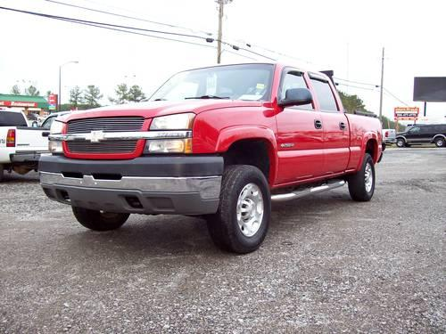 2004 chevy 2500hd crew cab 4x4 for sale in lake view alabama classified. Black Bedroom Furniture Sets. Home Design Ideas