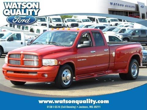 2005 Dodge Ram 3500 4 Door Crew Cab Long Bed Truck