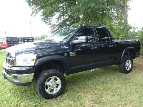 2007 Dodge Ram 2500 4 Door Crew Cab Long Bed Truck