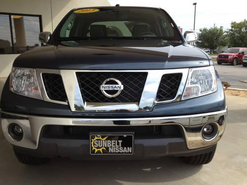 2013 nissan frontier pickup truck 4wd crew cab lwb auto sl for sale in augusta georgia. Black Bedroom Furniture Sets. Home Design Ideas