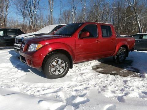 2012 NISSAN FRONTIER 4 DOOR CREW CAB SHORT BED TRUCK