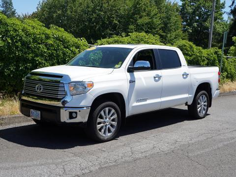 2014 Toyota Tundra 4 Door Crew Cab Short Bed Truck