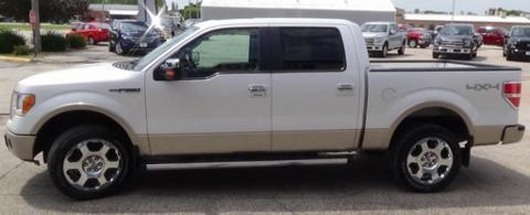2010 Ford F-150 4 Door Crew Cab Short Bed Truck