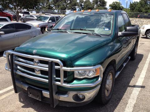 2003 Dodge Ram 3500 4 Door Crew Cab Short Bed Truck