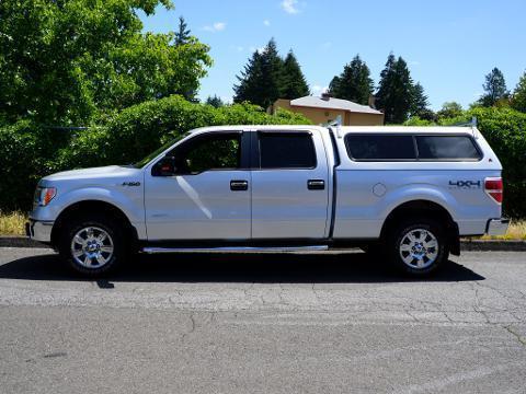 2012 Ford F-150 4 Door Crew Cab Short Bed Truck