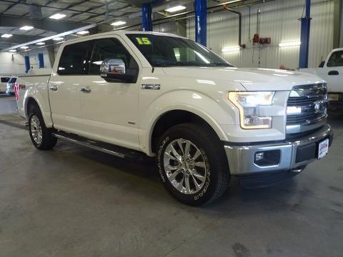 2015 Ford F-150 4 Door Crew Cab Short Bed Truck