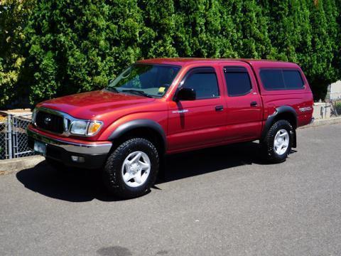 2004 Toyota Tacoma 4 Door Crew Cab Short Bed Truck