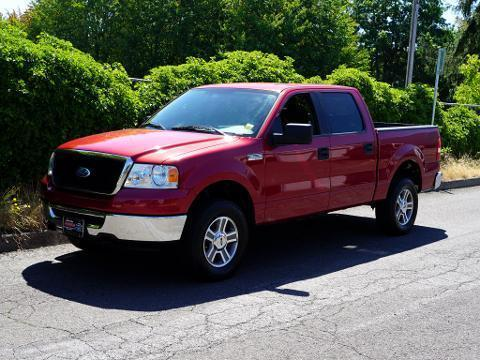 2008 Ford F-150 4 Door Crew Cab Short Bed Truck