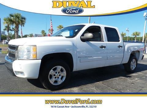 2008 Chevrolet Silverado 1500 4 Door Crew Cab Short Bed Truck