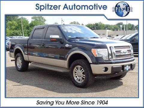 2010 Ford F-150 4 Door Crew Cab Short Bed Truck