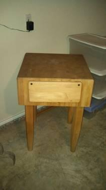 Butcher Block / Cutting Table