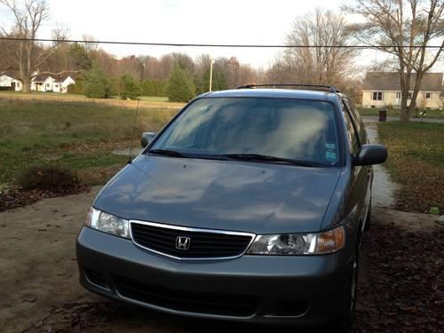 2000 Honda Odyssey 3.5 L, 6 cyl, pale gray-blue, 225K Mi