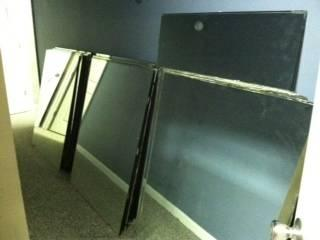 39 MIRRORS LARGE GREAT FOR GYM DANCE STUDIO CLUB AND MORE!!