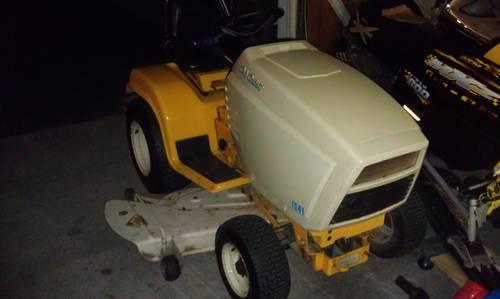 1541 Cub Cadet Garden Tractor : Cub cadet with quot deck and snowblower for sale