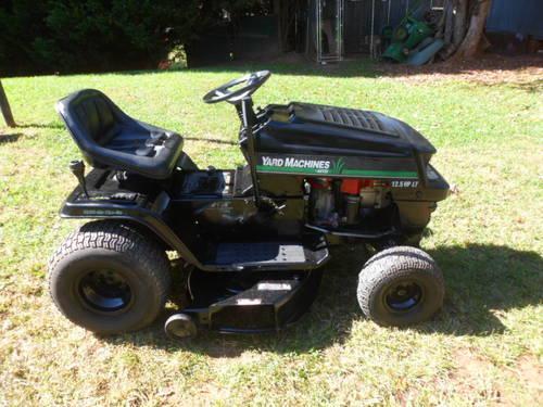 yard machine 38 mower