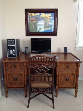 Tommy Bahama Office Desk Chair For Sale In San Marcos