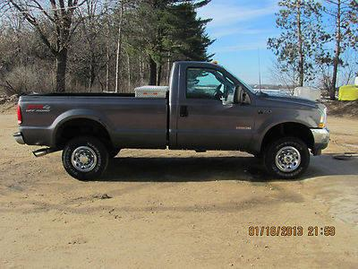 2003 Ford F350 Diesel SRW Manual
