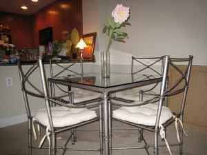 PIER1 MEDICI 5-PC DINING TABLE SET
