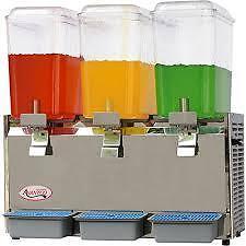 AvantCo. Triple 15 Gal. Beverage Dispenser, Model#RBD53 - $750