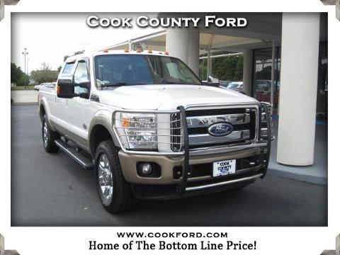 2012 Ford F-250 4 Door Crew Cab